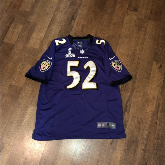 Authentic Ravens Ray Lewis Jersey Collector